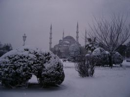 snow - istanbul IV by smrdncr