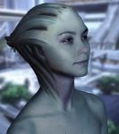 Asari photoshop experiment by BrainTreeStudios