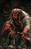 Hellboy by MattDeMino