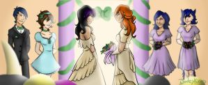 Nice day for a wedding by Jadeykinns