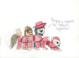 MLP: The Equestrian Inquisition by SarahTaylorr