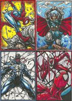 Spiderman Thor Venom Carnage by caananwhite