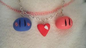 Dango necklace by Snow-of-Wonderland
