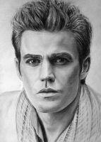 Paul Wesley by LazzzyV