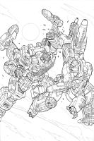 Energon minicomic unused cover by GuidoGuidi