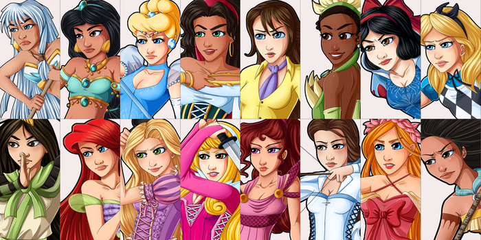 Queen's Crown Ladies by AerianR