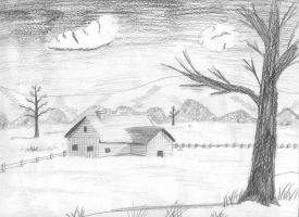 Home, Home on the Range sketch by UrsusAureusHistorias