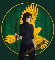Mockingjay by Ameza
