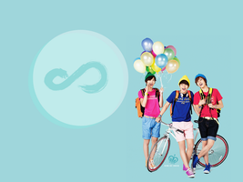 Infinite Wallpaper [ In the summer ] by Heosukx