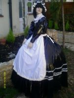 1860s French maid Gown by puncturegown