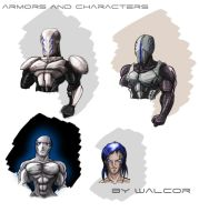 Cool Armors by walcor