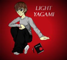 Light Yagami by broken-with-roses