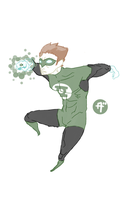 hal jordan the green latern by villainzekes