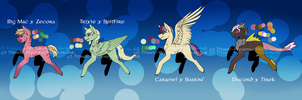 Pony Crack!Shipping Adopts 2 : OPEN (1 LEFT!) by Titanic-Wyvern