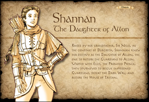 Shannan Character Page by TheLadyNerd