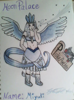 Articuno Goddess Colored by ElizabethDiehl