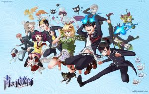 + Ao no Exorcist + by Malfey