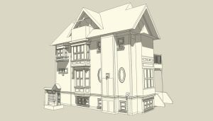 SketchUp - Old House by jasonh1234