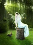 Forest fairy tale by MorganaThead