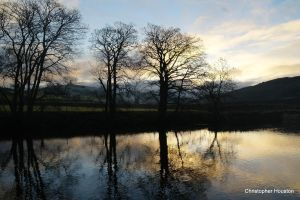 River Wharfe sunrise two by squareprismish