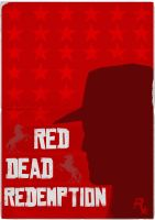 Red Dead Redemption Poster by W0op-W0op
