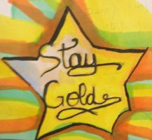 stay gold design by PonyboyRocksMySocks