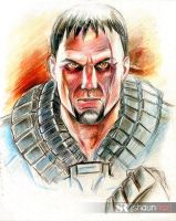Man Of Steel Zod Color Pencils by shaunriaz