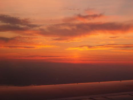 Sunset on a Wing by LadyAquatica