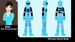 PRSE- Blue Ranger Template by GiLaw77