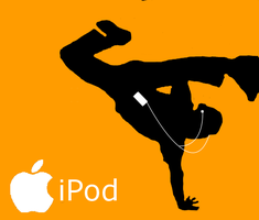 iPod Silhouette by Yogee30