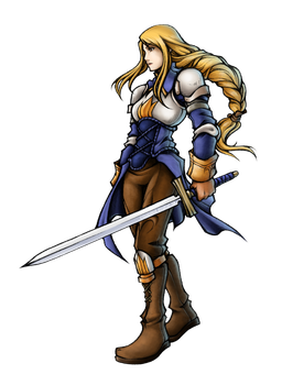Commission: Agrias Oaks by isaiahjordan