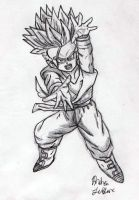 Trunks - Sketch #6 by Jaylastar