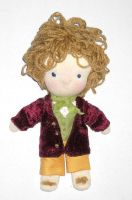 Bilbo Baggins The Hobbit Waldorf Doll by LilliamSlasher