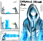 Infamous Second Son - Plasmakinesis concept art by Cethic