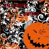 Halloween Swirls by Coby17