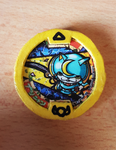 Bushinyan Youkai Medal Prop by StealthNinja5