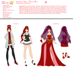 Otome Irori Charcter Concept Art by The-Devil-Butterfly
