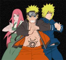 Uzumaki Family Road To Ninja by Naruto-fan27