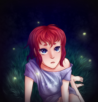 Fireflies by Kawaii-Fruit