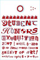Student Honors Exhibition 2007 by expiringsun
