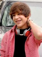 Austin with his headphones by clfiber