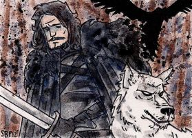 Jon Snow by SpencerPlatt
