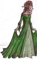 Lady in the Green Dress by ozalina