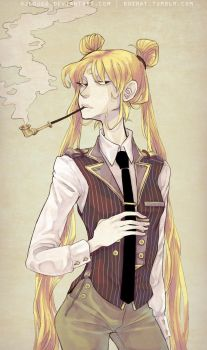 Dapper Sailor by HJeojeo