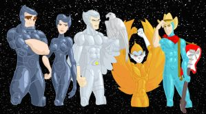 Silverhawks by the-batcomputer