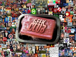 Geek Club Soap Collage by Rabittooth