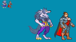 Demitri and jon JUS version size sprites by zacharyleebrown