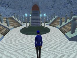 Djose Temple - Second Life by Renmiri