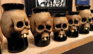 Skull shot glasses- Complete by thebigduluth