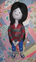 Needle Felted Marceline Inspired by Adventure Time by CatsFeltLings